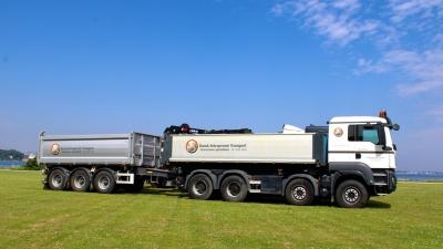 NOPA Hardox kærre skal køre entreprenør materiel