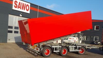 NOPA containerpåhængsvogn til erfaren vognmandsfirma
