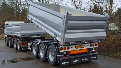 Hardox kærre og container skal hjælpe ved bl.a. anlægsarbejde