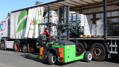 Levering af flere Moffett el-trucks i Danmark