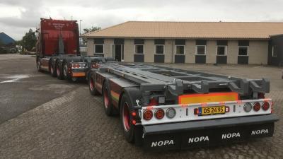 En NOPA påhængsvogn i fødselsdagsgave