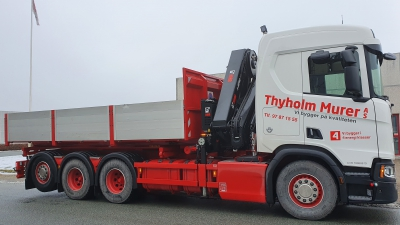 Flot opbygning til Thyholm
