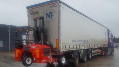Nielsen Trucking har købt ny Moffett medbringertruck