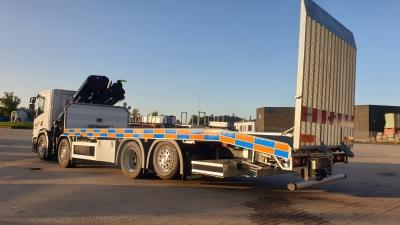 HIAB X-HiDuo kran leveret i Syddanmark